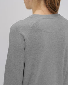 Sweat-shirt col rond iconique femme  | Stella Tripster Mid Heather Grey 4