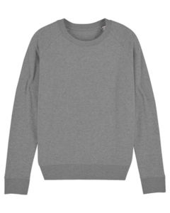 Sweat-shirt col rond iconique femme  | Stella Tripster Mid Heather Grey 6