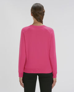Sweat-shirt col rond iconique femme  | Stella Tripster Pink Punch 1