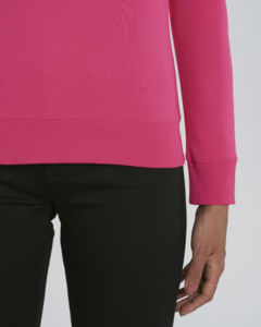 Sweat-shirt col rond iconique femme  | Stella Tripster Pink Punch 2