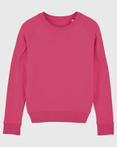 Sweat-shirt col rond iconique femme  | Stella Tripster Pink Punch 4
