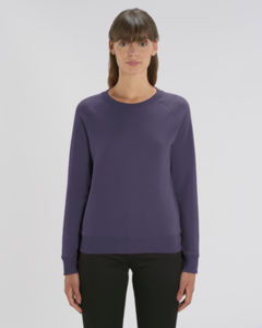 Sweat-shirt col rond iconique femme  | Stella Tripster Plum