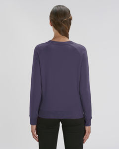 Sweat-shirt col rond iconique femme  | Stella Tripster Plum 1