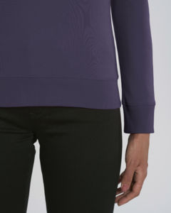 Sweat-shirt col rond iconique femme  | Stella Tripster Plum 2
