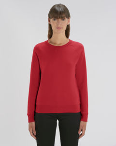 Sweat-shirt col rond iconique femme  | Stella Tripster Red