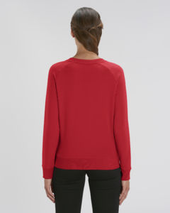 Sweat-shirt col rond iconique femme  | Stella Tripster Red 1