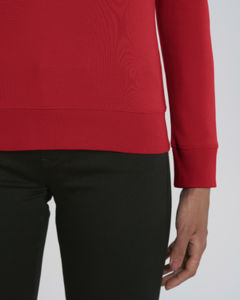 Sweat-shirt col rond iconique femme  | Stella Tripster Red 2