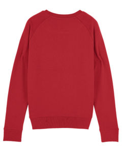 Sweat-shirt col rond iconique femme  | Stella Tripster Red 3