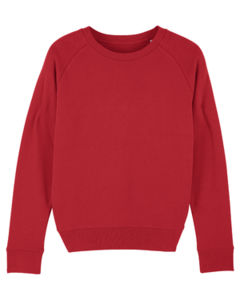 Sweat-shirt col rond iconique femme  | Stella Tripster Red 4