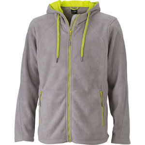 Sweat-Shirt professionnel polaire Homme gris