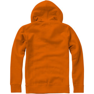Sweater personnalisé capuche full zip Arora Orange 4