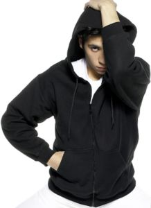 Sweats entreprise ZIP THROUGH HOODED SW260