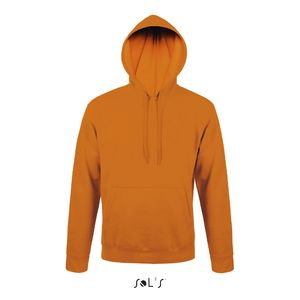 Sweat-shirt publicitaire unisexe à capuche | Snake Orange