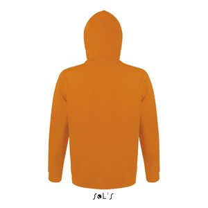 Sweat-shirt publicitaire unisexe à capuche | Snake Orange 1
