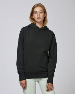 Sweat-shirt capuche oversize unisexe | Reach Black