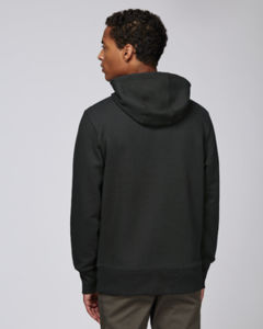 Sweat-shirt capuche oversize unisexe | Reach Black 2