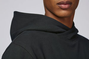 Sweat-shirt capuche oversize unisexe | Reach Black 4