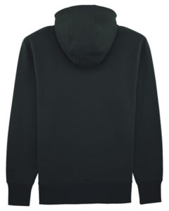 Sweat-shirt capuche oversize unisexe | Reach Black 9