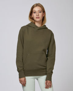 Sweat-shirt capuche oversize unisexe | Reach British Khaki