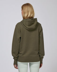 Sweat-shirt capuche oversize unisexe | Reach British Khaki 1