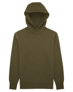 Sweat-shirt capuche oversize unisexe | Reach British Khaki 10