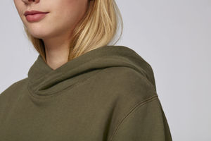 Sweat-shirt capuche oversize unisexe | Reach British Khaki 3