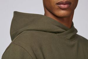 Sweat-shirt capuche oversize unisexe | Reach British Khaki 4