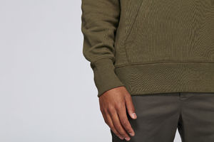 Sweat-shirt capuche oversize unisexe | Reach British Khaki 6