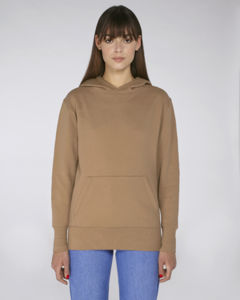 Sweat-shirt capuche oversize unisexe | Reach Camel