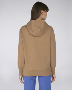 Sweat-shirt capuche oversize unisexe | Reach Camel 2
