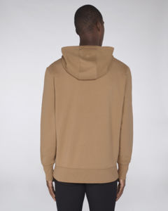 Sweat-shirt capuche oversize unisexe | Reach Camel 3