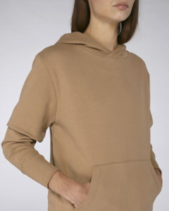 Sweat-shirt capuche oversize unisexe | Reach Camel 4