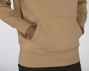 Sweat-shirt capuche oversize unisexe | Reach Camel 5