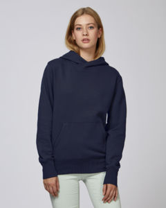 Sweat-shirt capuche oversize unisexe | Reach French Navy