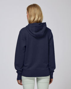 Sweat-shirt capuche oversize unisexe | Reach French Navy 1