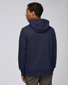 Sweat-shirt capuche oversize unisexe | Reach French Navy 2