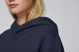 Sweat-shirt capuche oversize unisexe | Reach French Navy 3