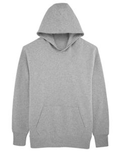 Sweat-shirt capuche oversize unisexe | Reach Heather Grey 3
