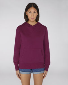 Sweat-shirt capuche oversize unisexe | Reach Purple Led