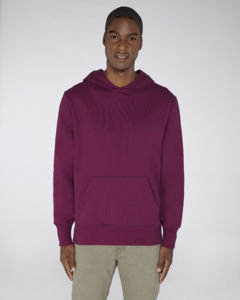 Sweat-shirt capuche oversize unisexe | Reach Purple Led 1