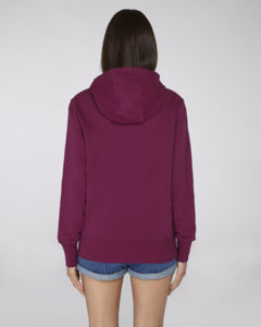 Sweat-shirt capuche oversize unisexe | Reach Purple Led 2