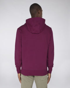 Sweat-shirt capuche oversize unisexe | Reach Purple Led 3