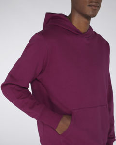 Sweat-shirt capuche oversize unisexe | Reach Purple Led 5