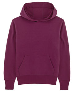 Sweat-shirt capuche oversize unisexe | Reach Purple Led 7