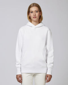 Sweat-shirt capuche oversize unisexe | Reach White