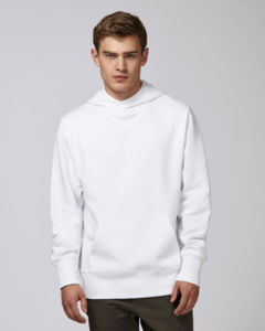 Sweat-shirt capuche oversize unisexe | Reach White 1