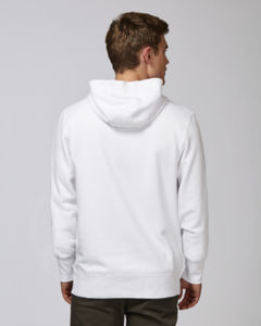 Sweat-shirt capuche oversize unisexe | Reach White 3