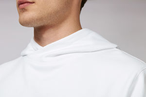 Sweat-shirt capuche oversize unisexe | Reach White 5
