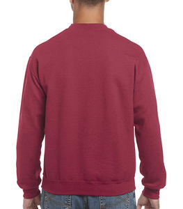 Sweat-shirt col rond heavy blend™ publicitaire | Sorel-Tracy Antique Cherry Red