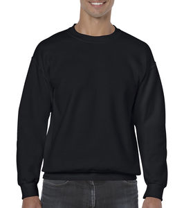 Sweat-shirt col rond heavy blend™ publicitaire | Sorel-Tracy Black 1